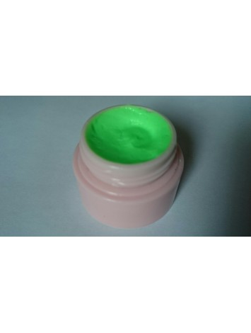 4D UV Neon Green Plastiline  Lace Gel, 8 ml