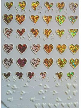 3D Jewelry stickers №54