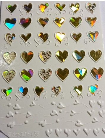 3D Jewelry sticker №56