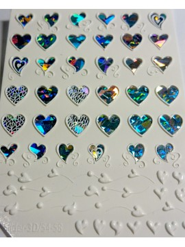 3D Jewelry sticker №57