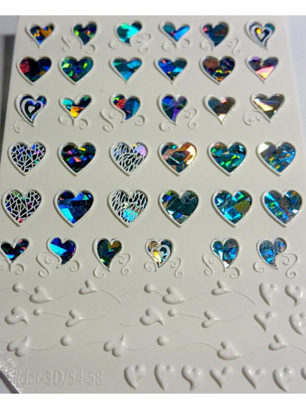 3D Jewelry sticker №57
