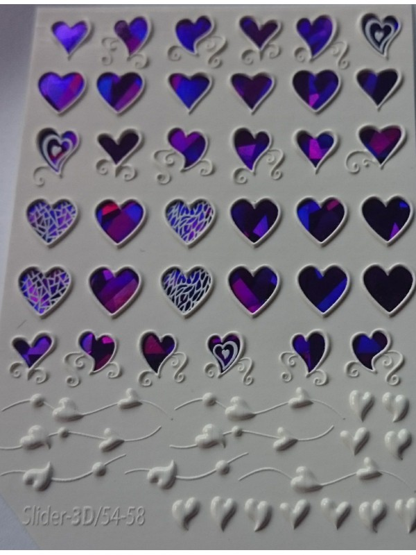 3D Jewelry stickers №58