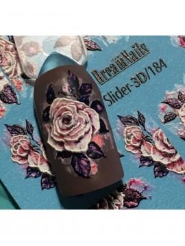 3D Flower sticker №184