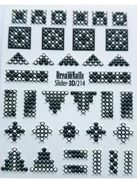 3D sticker №214