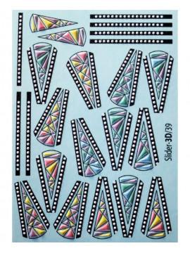 3D Sticker №39