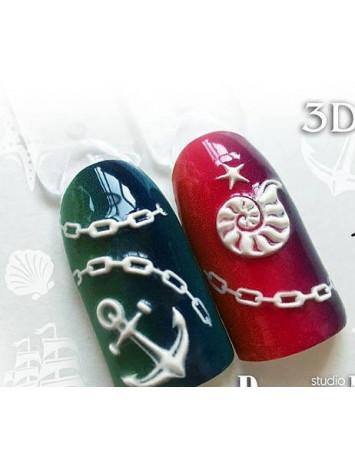 3D sticker №91