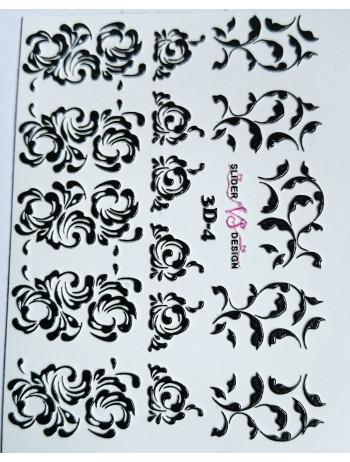 3D Sticker №04