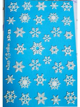 3D Christmas sticker №53