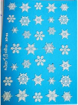 3D Christmas sticker №55