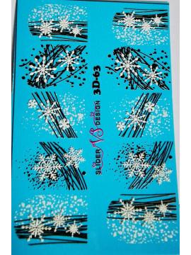 3D Christmas sticker №63