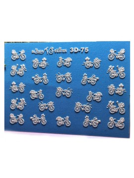 3D sticker №75
