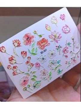3D sticker №357