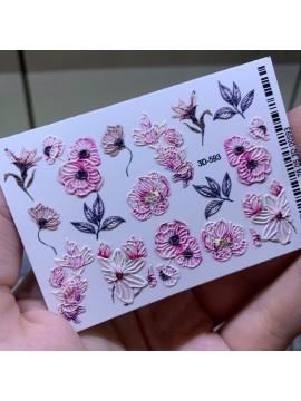 3D sticker №593