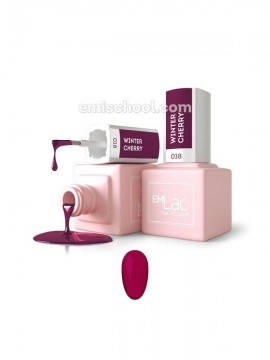 E.MiLac Winter Cherry №18, 9 ml