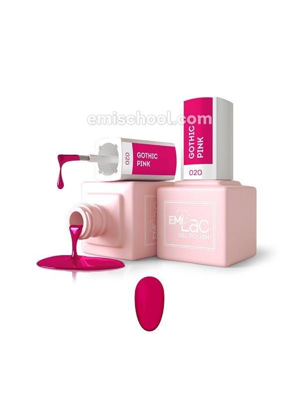 E.MiLac Gothic Pink №20, 9 ml
