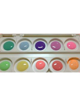 E.Mi set Pastel Rings