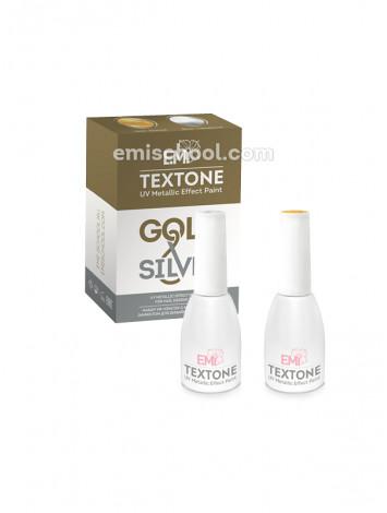 Textone Set E.Mi Gold Silver colors