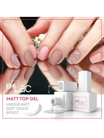 Matt Top gel  E.MiLac