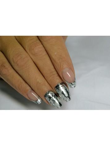 """Silver Matte Foils for """"Crackled"""" Effect"""