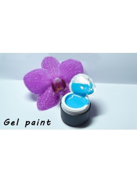 Blue Gel Paint 5 ml