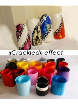 "Set for ""Crackle""  Effect"