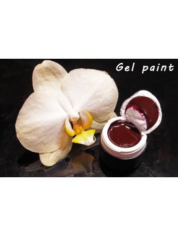 Brown Wine  Gel Paint 5 ml