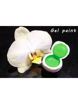 Lime Gel Paint 5 ml