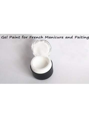 Snow White Gel Paint , 5 ml