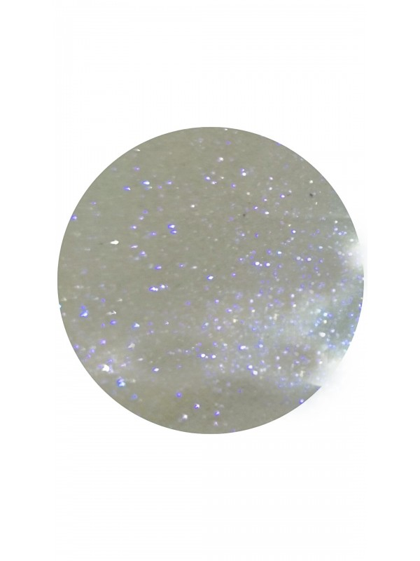 White Purple Mirror Glitters, 5g  №17