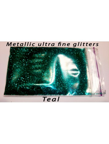 Green Metallic Mirror Glitters, 5g  №28
