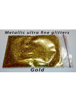 Gold Metallic Glitters, 5g
