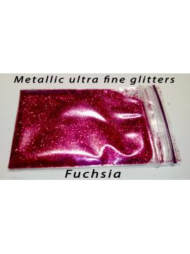 Fucsia Metallic Mirror Ultra Fine Glitters, 5g