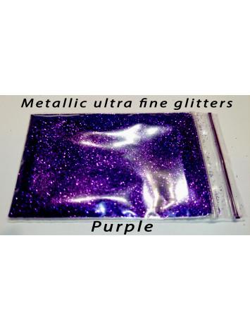 Purple Metallic Mirror Glitters, 5g №41