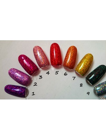 Purple Holo Ultra Fine Glitters, 5g  №1
