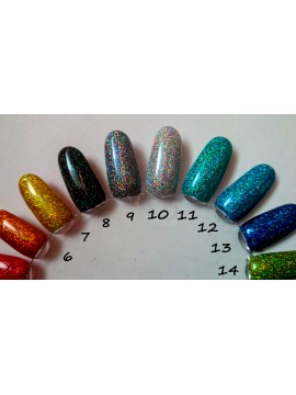 Black Holographic Mirror Ultra Fine Glitters, 5g