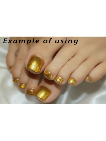 Gold Metallic Mirror Glitters, 5g №34