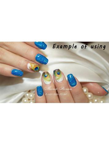 Blue Holo Ultra Fine Glitters, 5g  №12