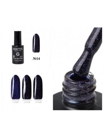 Grattol Opal gel polish №14, 9 ml