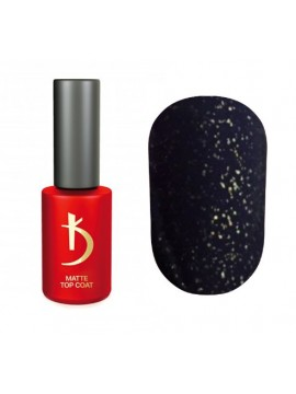 Kodi Glitter Matte Top Coat , 7ml