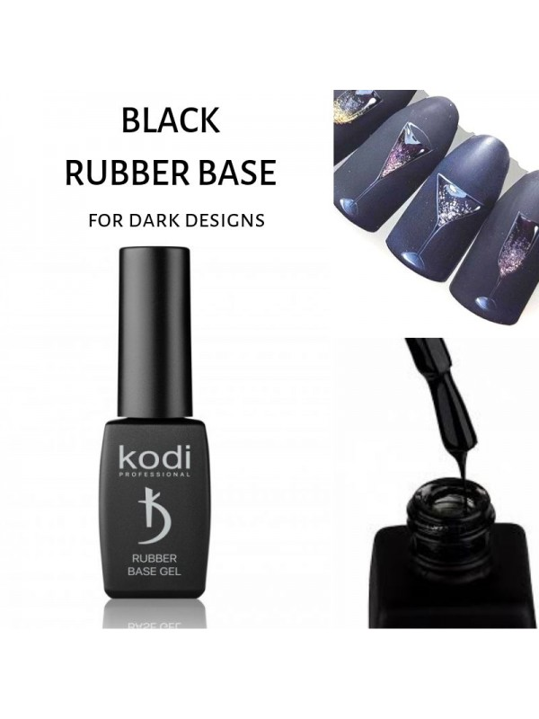 Kodi Black Rubber Base