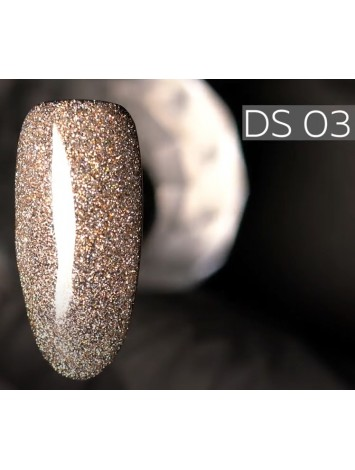 Kodi Gel Polish Diamond Sky №03DS,  7 ml