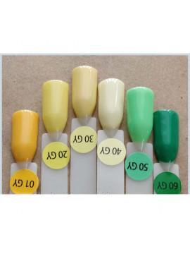 Yellow&Green Kodi Gel Polish,  8 ml