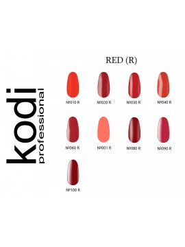 Red Kodi Gel Polish,  8 ml
