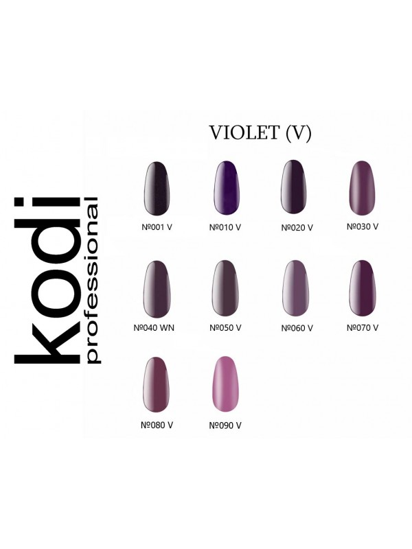 Violet  Kodi Gel Polish,  8 ml