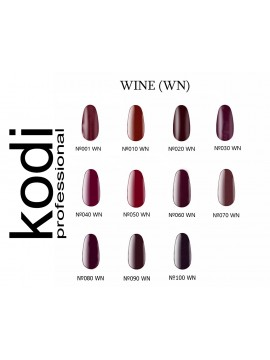 Wine Kodi Gel Polish,  8 ml