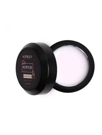 Komilfo Acryl Gel №003  Bright White, 5 ml