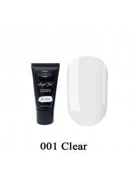 Komilfo Acryl Gel №001 Clear , 30 ml/ 60 ml