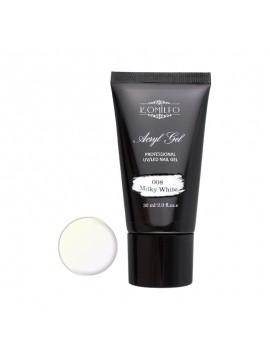 Komilfo Acryl Gel №008 Milk White, 30 ml/ 60 ml