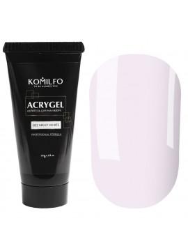 Komilfo AcrylGel №002 Milky White, 30 ml/ 60 ml