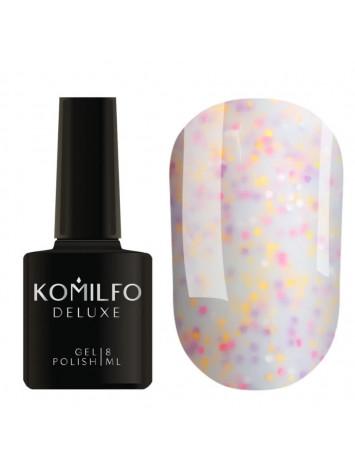 Komilfo Confetti Gel Polish CN007, 8 ml